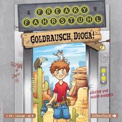 Freaky Fahrstuhl - Goldrausch, Digga!, 1 Audio-CD
