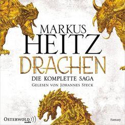 Drachen. Die komplette Saga, 9 Audio-CD, MP3