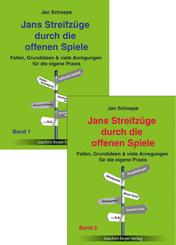Jans Streifzüge durch die offenen Spiele (Bundle), 2 Teile