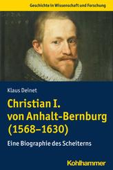 Christian I. von Anhalt-Bernburg (1568-1630)