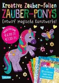 Kreative Zauber-Folien: Zauber-Ponys, Set
