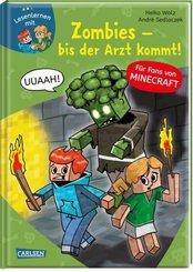 Lesenlernen mit Spaß - Minecraft: Zombies - bis der Arzt kommt!