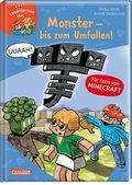 Lesenlernen mit Spaß - Minecraft: Monster - bis zum Umfallen!