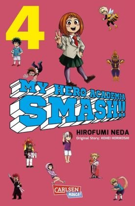My Hero Academia Smash - Bd.4