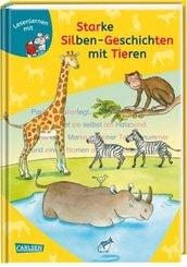 Starke Silben-Geschichten mit Tieren