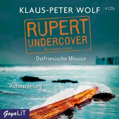 Rupert undercover. Ostfriesische Mission, 4 Audio-CD