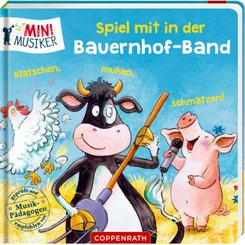 Spiel mit in der Bauernhof-Band: Klatschen, muhen, schmatzen!
