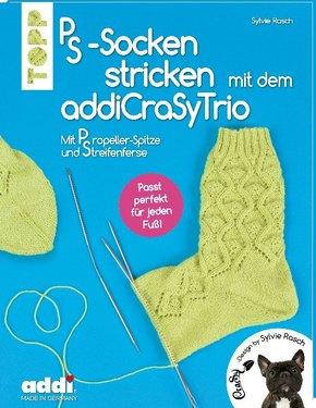 PS-Socken mit dem addiCraSyTrio stricken