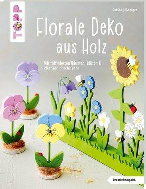 Florale Deko aus Holz