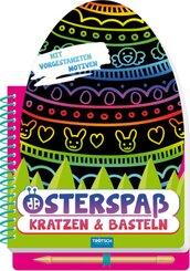 Osterspaß - Kratzen & Basteln