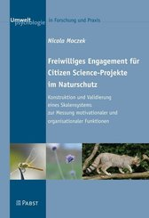 Freiwilliges Engagement für Citizen Science-Projekte im Naturschutz