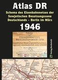 Atlas DR 1946 - Schema des Eisenbahnnetzes der Sowjetischen Besatzungszone Deutschlands