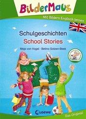 Bildermaus - Mit Bildern Englisch lernen - Schulgeschichten / School Stories
