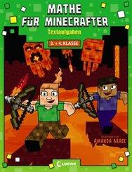 Mathe für Minecrafter - Textaufgaben 3. und 4. Klasse