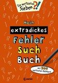 Die verflixten Sieben - Mein extradickes Fehler-Such-Buch (orange)