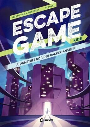 Escape Game Kids - Alarmstufe Rot: Der Hackerangriff