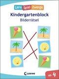 LernSpielZwerge Kindergartenblock - Bilderrätsel