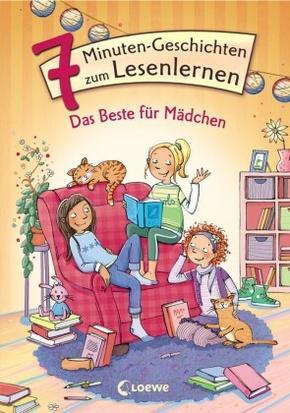 Leselöwen - Das Original - 7-Minuten-Geschichten zum Lesenlernen - Das Beste für Mädchen