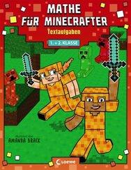 Mathe für Minecrafter - Textaufgaben 1. und 2. Klasse