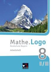 Mathe.Logo, Realschule Bayern (2017): 8 II/III. Jahrgangsstufe, Arbeitsheft