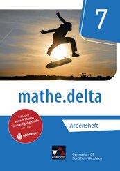 mathe.delta, Ausgabe Nordrhein-Westfalen (G9): 7. Schuljahr, Arbeitsheft; 1