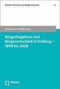 Bürgerbegehren und Bürgerentscheid in Freiberg - 1999 bis 2008