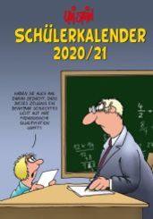 Uli Stein - Schülerkalender 2020/2021 Spiralbindung