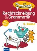 Die Buchmonster Rechtschreibung & Grammatik 4. Klasse