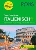 PONS Power-Sprachkurs Italienisch 1, m. Audio-CD u. Online-Tests