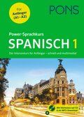PONS Power-Sprachkurs Spanisch 1, m. Audio-CD u. Online-Tests
