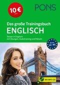 PONS Das große Trainingsbuch Englisch, m. Audio-CD, MP3