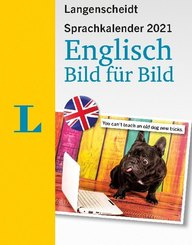 Langenscheidt Sprachkalender 2021 Englisch Bild für Bild - Abreißkalender