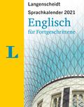 Langenscheidt Sprachkalender Englisch für Fortgeschrittene 2021