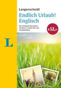 Langenscheidt Endlich Urlaub! Englisch, m. 2 Audio-CDs