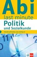 Klett Abi last minute - Politik und Sozialkunde