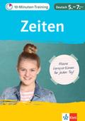 10-Minuten-Training Zeiten Deutsch 5.-7. Klasse