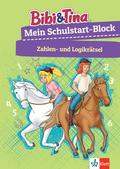 Bibi & Tina: Mein Schulstart-Block Zahlen- und Logikrätsel