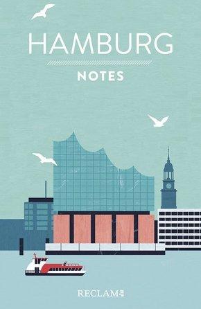 Hamburg. Notes - Blanko-Notizbuch