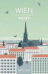 Wien. Notes - Blanko-Notizbuch