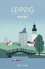 Leipzig. Notes - Blanko-Notizbuch