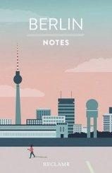 Berlin. Notes - Blanko-Notizbuch
