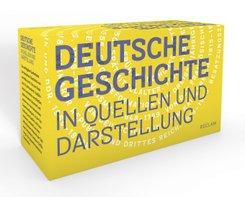 Deutsche Geschichte in Quellen und Darstellung, 11 Bde.