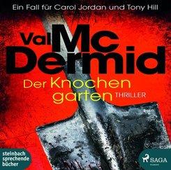 Der Knochengarten, 2 Audio-CD, MP3