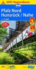 ADFC-Regionalkarte Pfalz Nord/ Hunsrück/ Nahe, 1:75.000, reiß- und wetterfest, GPS-Tracks Download
