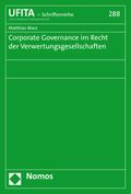 Corporate Governance im Recht der Verwertungsgesellschaften