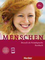 Menschen - Deutsch als Fremdsprache: Kursbuch; A1