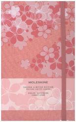 Moleskine Notizbuch Sakura Large/A5 Liniert, Rosa