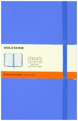 Moleskine classic, Notizbuch Large/A5 Liniert, Hortensien Blau