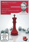 Caro-Kann - Berliner Geheimvarianten, DVD-ROM - Bd.1