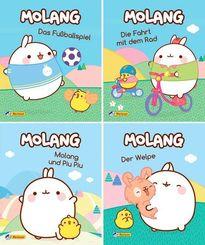 Nelson Mini-Bücher: Molang 1-4
